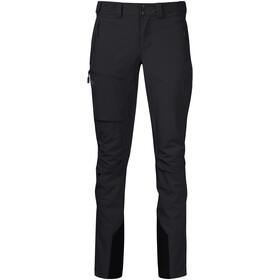 Bergans Breheimen Pantalones Softshell Mujer, negro